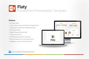 Flaty PowerPoint Template