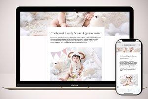 Newborn Questionnaire Template