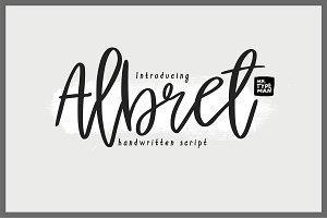 Albret Handwritten Script