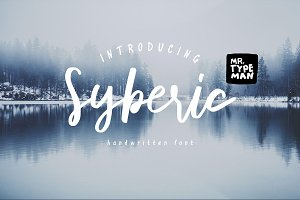 Syberic Handwritten Script