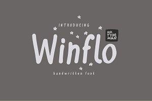 Winflo Handwritten Font