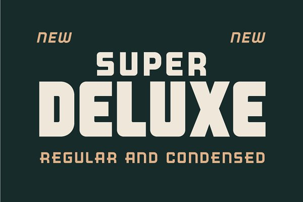 Fonts: Good Craft Supply Co. - Super Deluxe Display