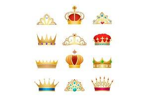 Vintage crown jewels