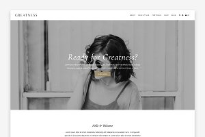 Greatness Wordpress Theme