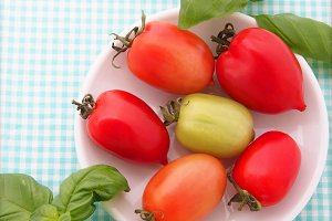Italian small red tomatoes