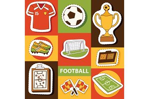 Soccer vector soccerball football