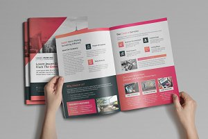 4pages Bifold Brochure