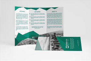 Business Green Brochure