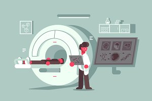 Magnetic resonance imaging procedure