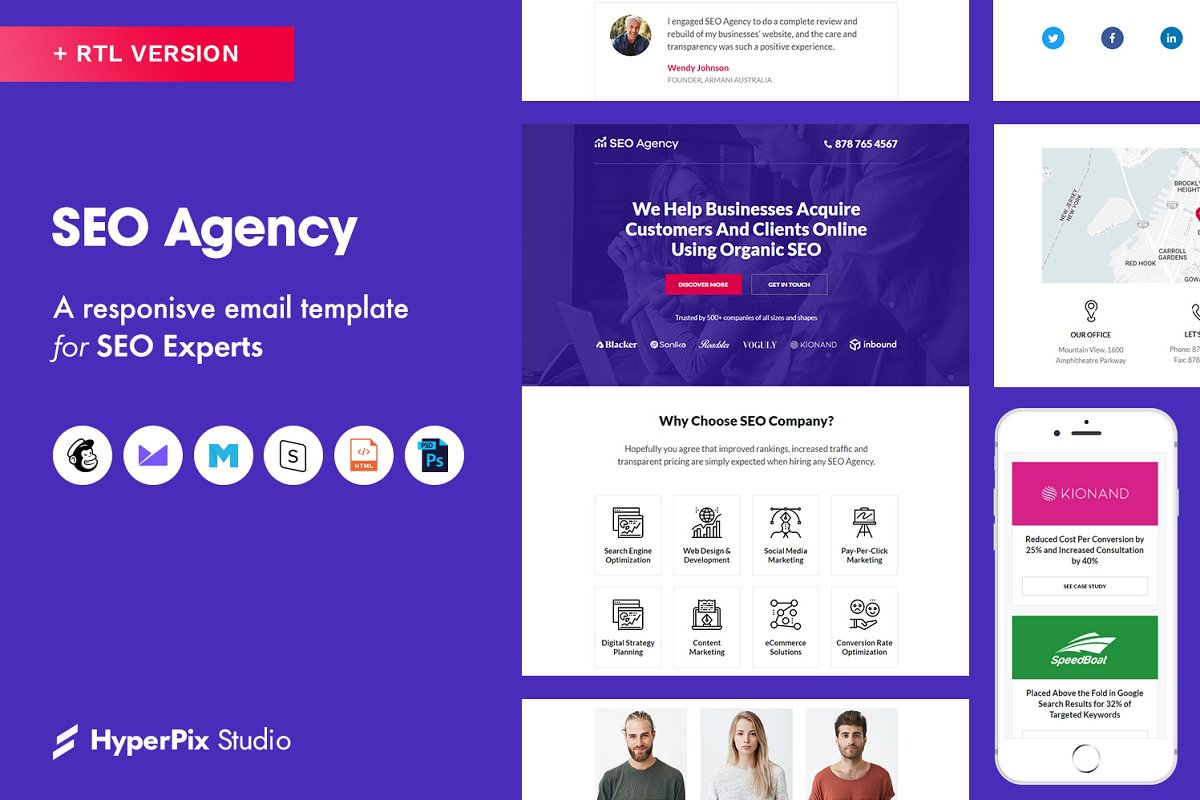 SEO Agency Email Template