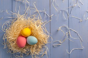 Beautiful easter holiday background