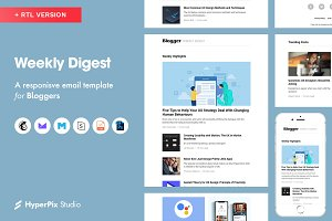 Weekly Digest Email Template