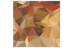 Camel Brown Abstract Low Polygon Bac