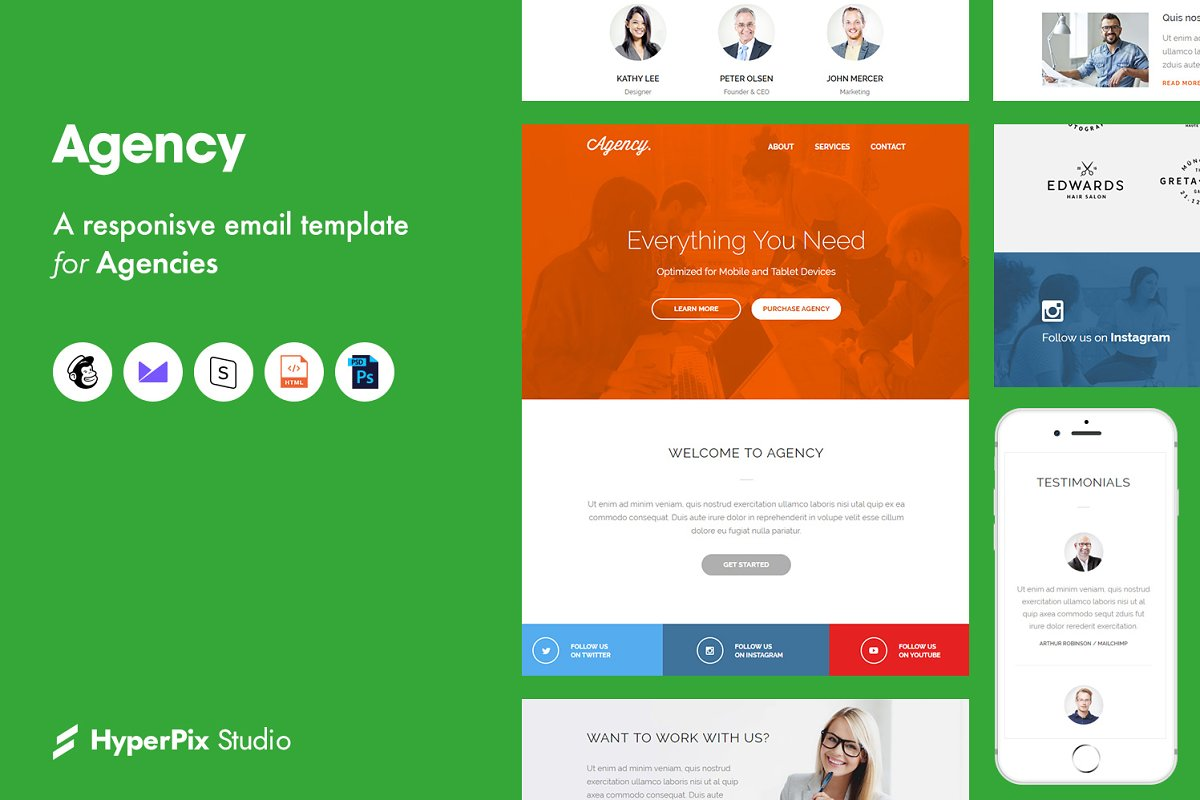 Agency Email Template