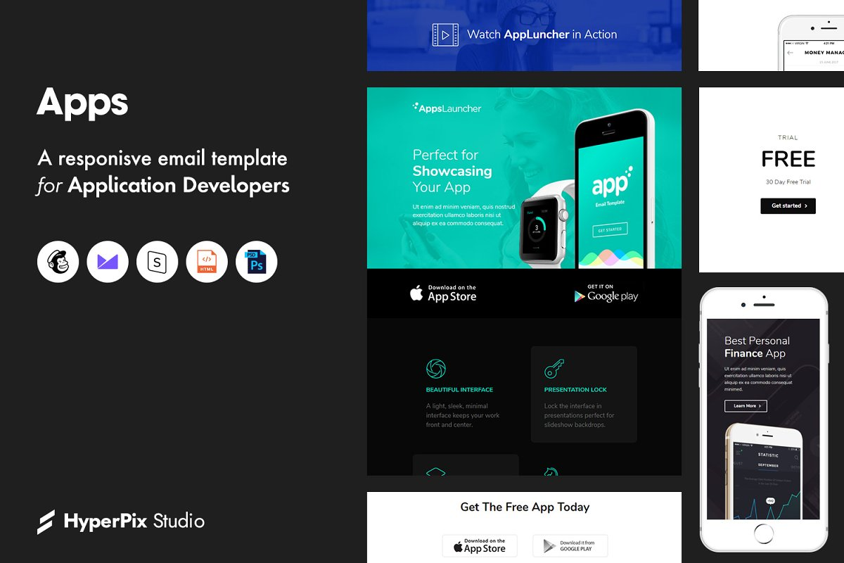 Apps Email Template
