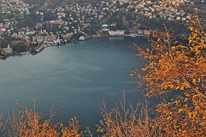 Lake Como Italy Stock Photo