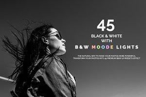 45 B&W & B&W Moody Lights LR Presets