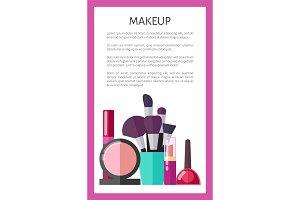 Makeup Tools and Decorative Elements