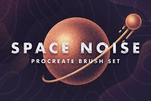 Space Noise - Procreate Brush Set