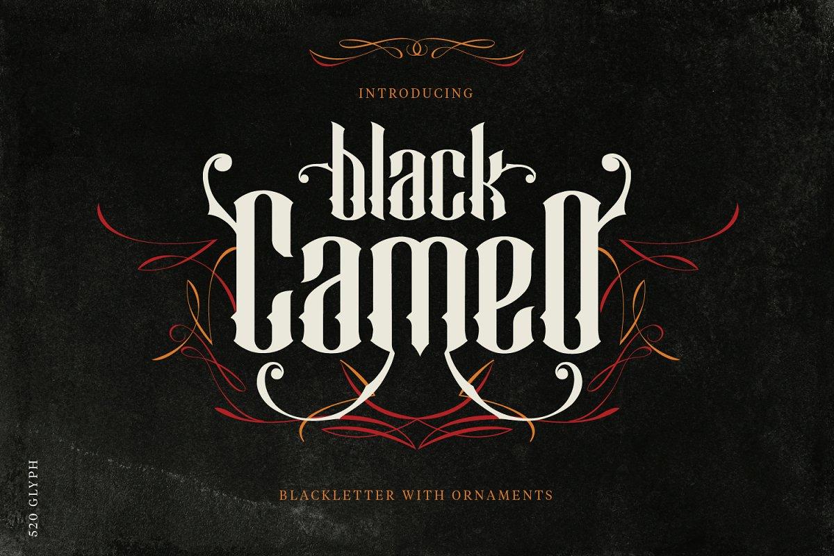 Black Cameo - With Bonus Ornaments
