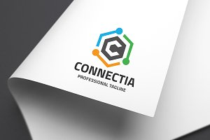 Letter C - Connectia Logo