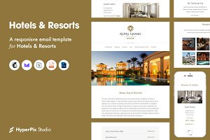 Hotels & and Resorts Email Template