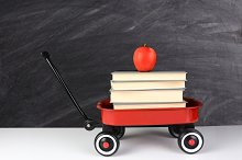 Wagon Books and Apple