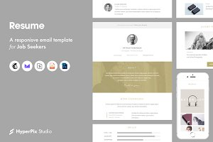 Resume Email Template