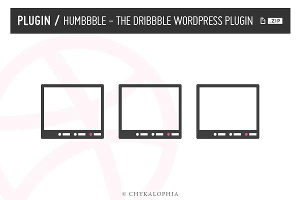 WordPress Plugins: Chykalophia - Humbbble - Dribbble Wordpress Plugin