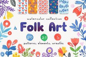 Folk Art Graphic & Patterns