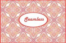 Seamless watercolor pattern 6