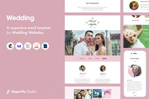 Wedding Email Template