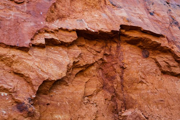 Stock Photos - Layers Of Colorful Geological Format