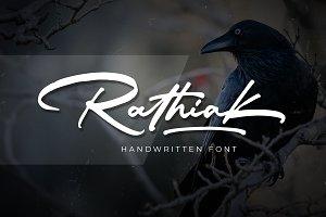 Rathiak - Handwritten - INTRO SALE
