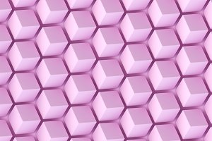 Abstract background of polygonal