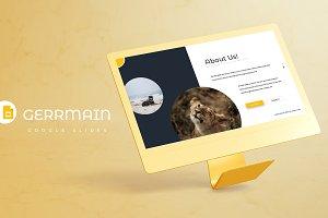 Germain - Google Slides Template