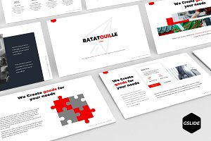 Ratatouille - Google Slides Template