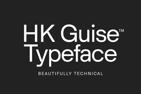Fonts: Hanken Design Co. - HK Guise