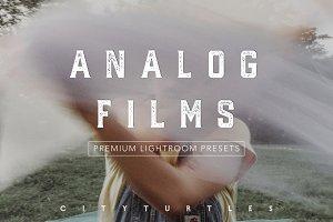 ANALOG FILM Inspired Moody Presets