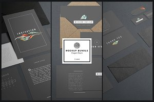 "Mockup Kit Bundle ""Elegant Black"""