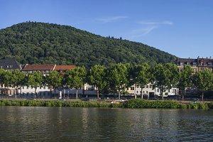 River Panorama Heidelberg