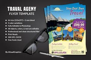 Traval Ageny Flyer