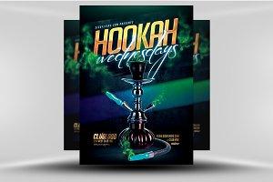 Hookah Wednesdays Flyer Template