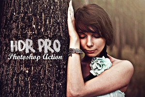 HDR PRO Photoshop Action