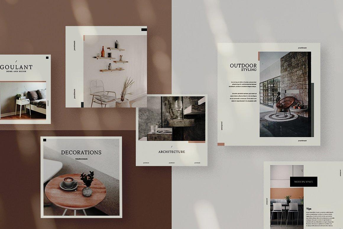 Interior Social Media Kits