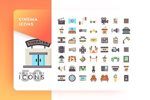 Cinema Icon Packs