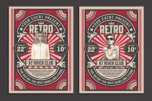 Retro Music Show Flyer