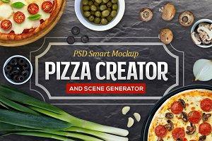 Pizza Creator & Scene Generator