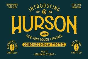 Hurson Rough - Serif