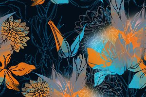floral pattern | JPEG